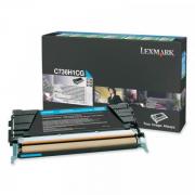 Toner Original C736dn C736H1CG Lexmark Ciano - www.acessoshop.com.br