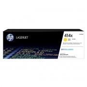 Toner Original HP 414X - W2022X Amarelo - 6.000Cópias
