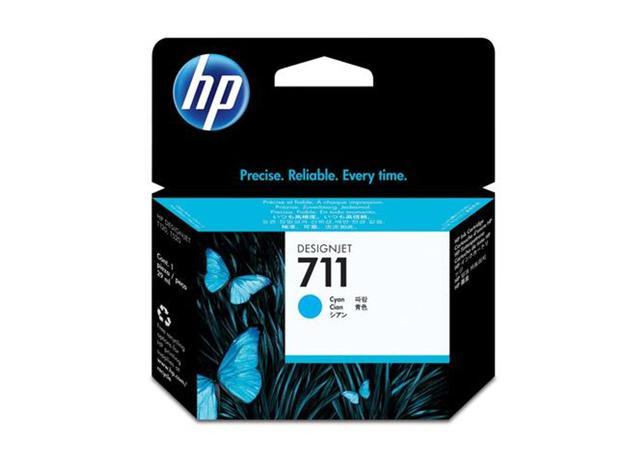 Cartucho de Plotter HP 711 - CZ130A CIANO