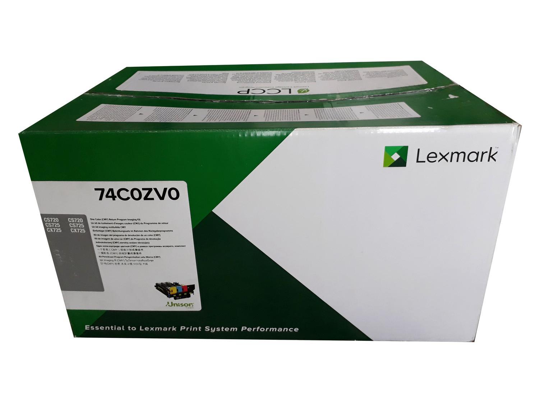 CILINDRO ORIGINAL LEXMARK CX725 COLORIDO 74C0ZV0