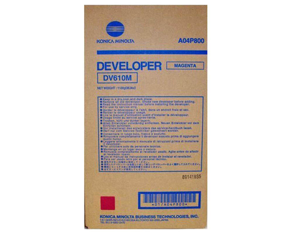 Developer Original Konica Minolta DV610M Magenta