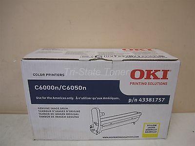 Drum Original Yellow Okidata 43381757