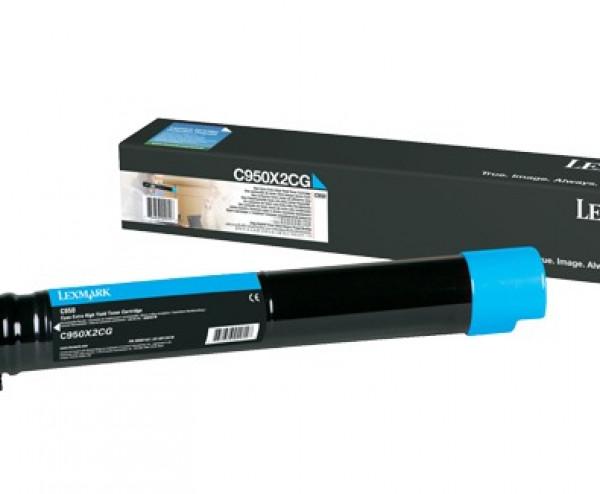 Lexmark C950 Azul Toner C950X2CG C950de Original - Promoção