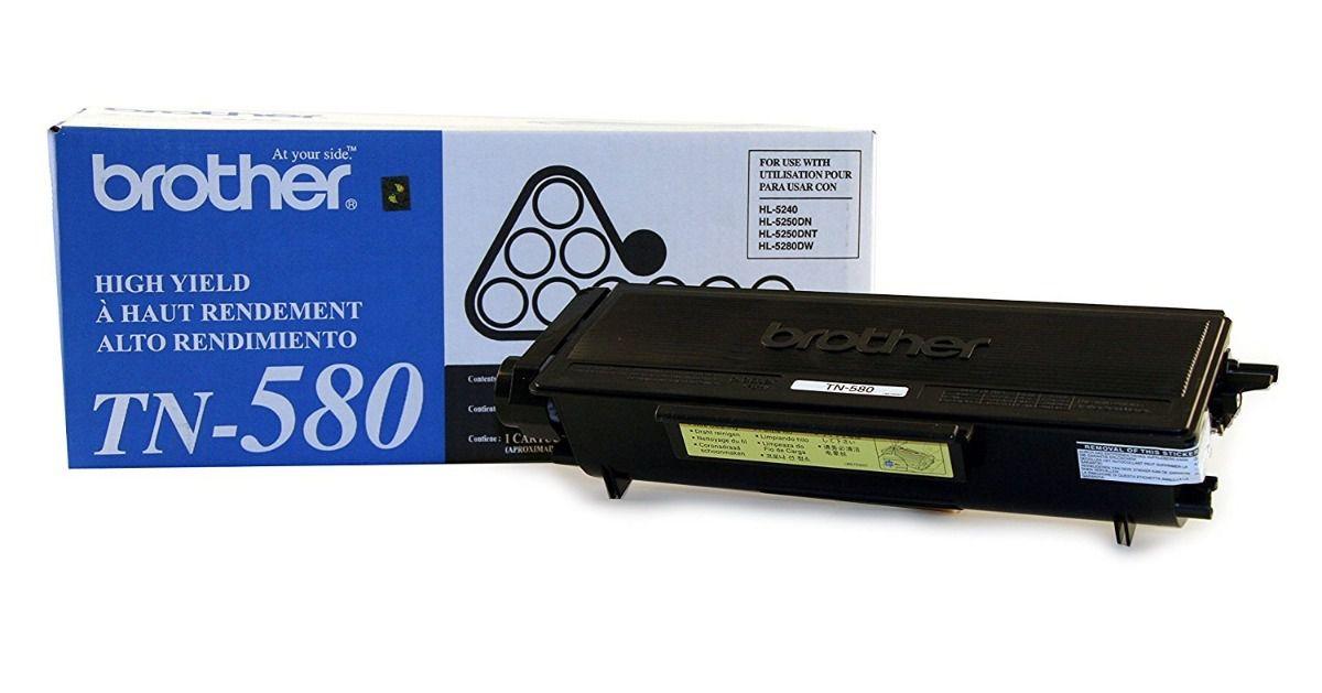 TN-580 Toner Original Brother TN580 DCP-8065 DCP-8060 HL-5240 HL-5250 HL-5280 MFC-8670DN - 7000 Pgs