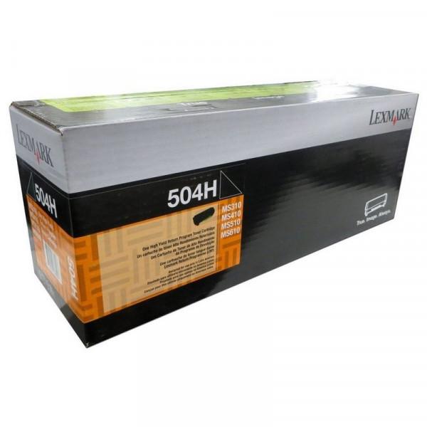 Toner 504H Original Lexmark 50F4H00 / 12x