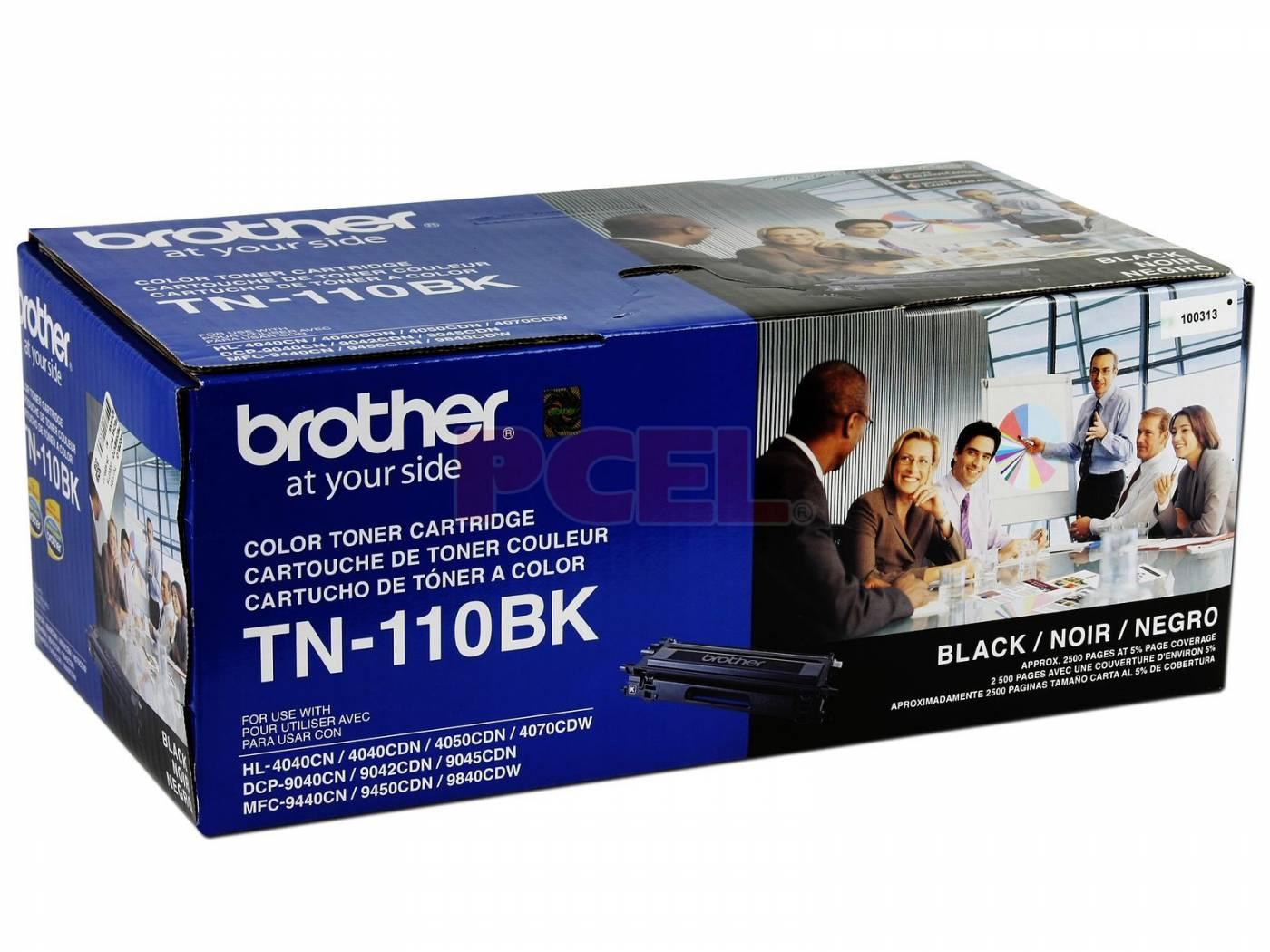 Toner Brother HL 4040 TN-110BK Original DCP-9040 2500 Pgs Preto