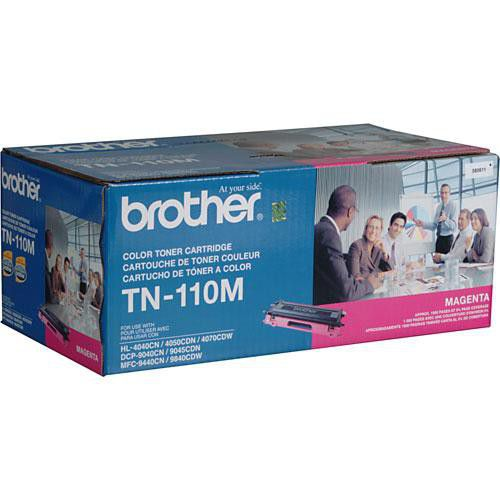 Toner Brother HL 4040 TN-110M Original DCP-9040 1500 Pgs Magenta