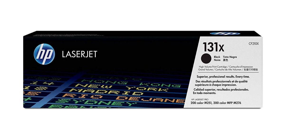 Toner HP 131X CF210X Original - 2.400 Pgs - Preto