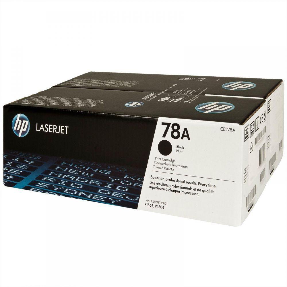 TONER HP 1530 CE278AD 78A DUPLO ORIGINAL PROMOÇÃO - ACESSOSHOP.COM.BR (Ref. CE278AD)