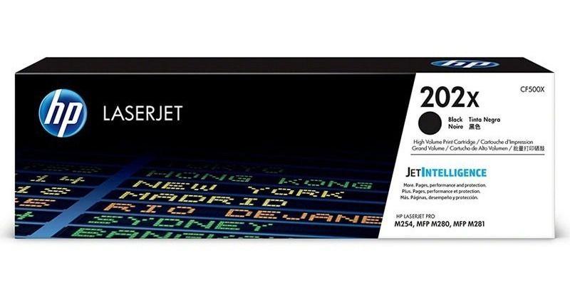 Toner HP 202X CF500X Original - 3.200 Pgs - Preto