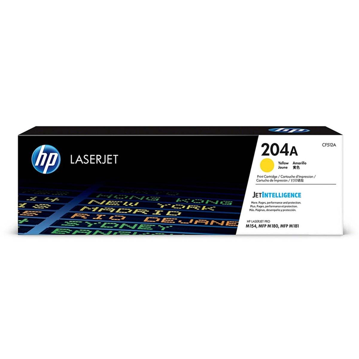 Toner HP 204A CF512A Original - 1.100 Pgs - Yellow
