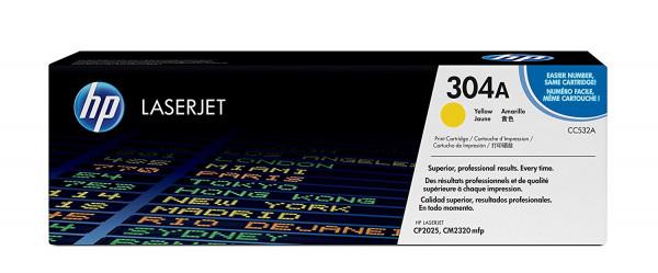 Toner HP CC532A 2025 Original |Frete Grátis| AcessoShop - acessoshop.com.br