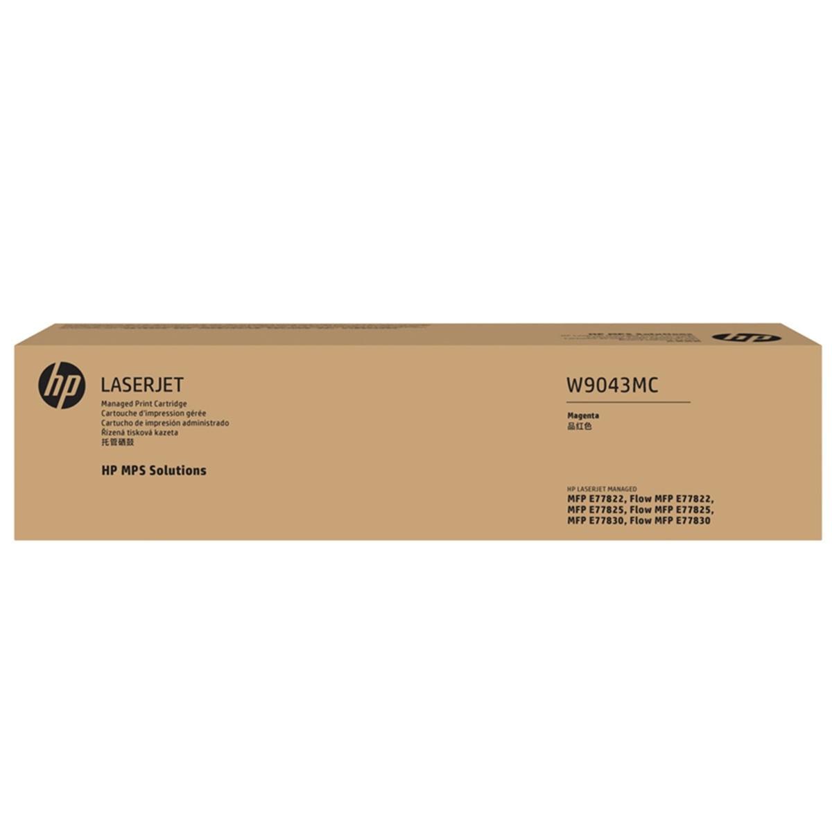 TONER HP W9043MC E778 MAGENTA | MFP E77825DN E77822 E77830 | ORIGINAL 32K