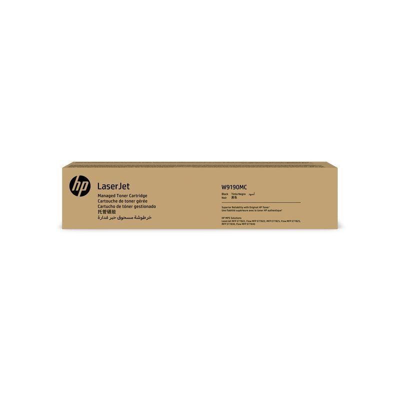 TONER HP W9190MC E778 PRETO | MFP E77825DN E77822 E77830 | ORIGINAL 29K