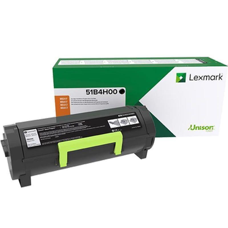 Toner Lexmark 51B4H00 Original rendimento extra-alto ? 8.500 Pgs - Preto