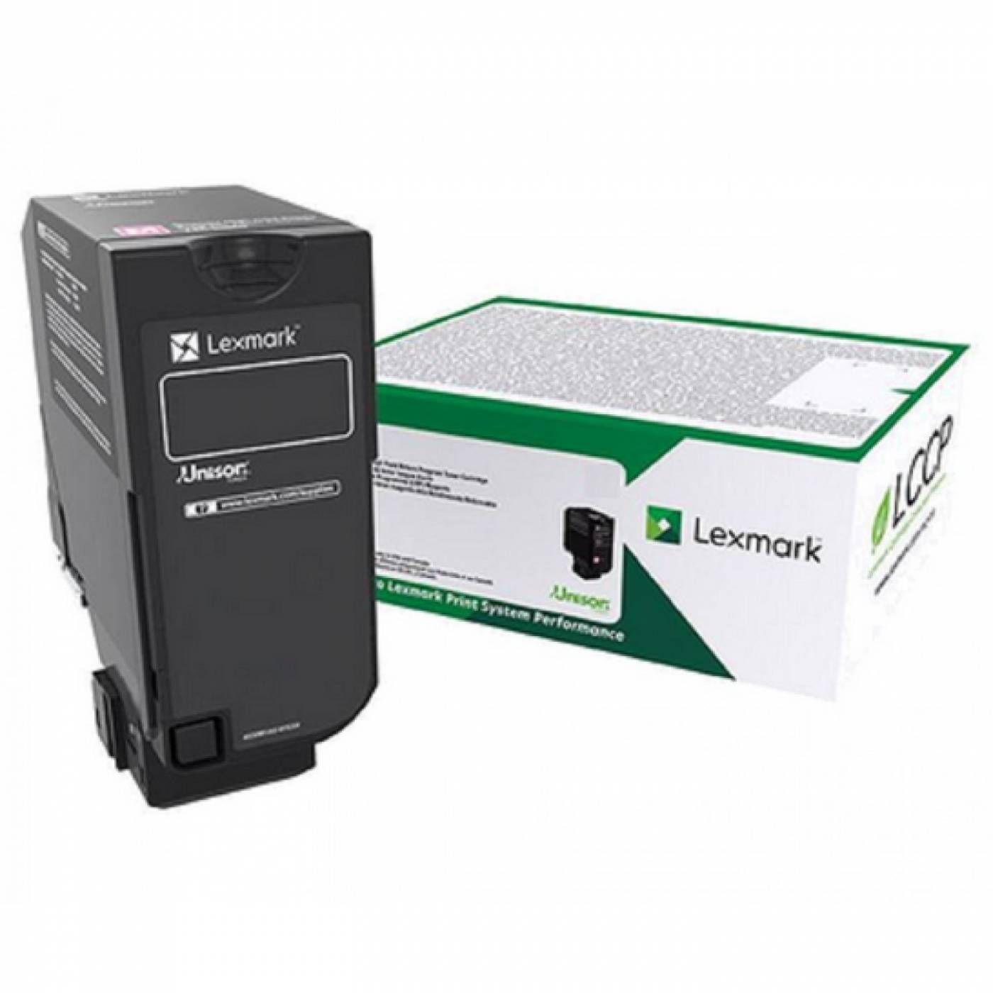 Toner Lexmark 84C4HK0 Original rendimento extra-alto ? 25.000 Pgs - Preto