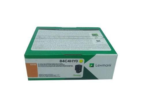 Toner Lexmark 84C4HY0 Original rendimento extra-alto ? 16.000 Pgs - Amarelo