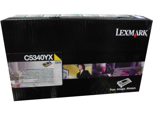 Toner Lexmark C534 C5340YX Original Amarelo | Em 12x