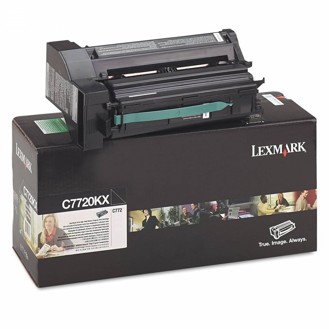 Toner Lexmark C772 C7720KX Original Preto