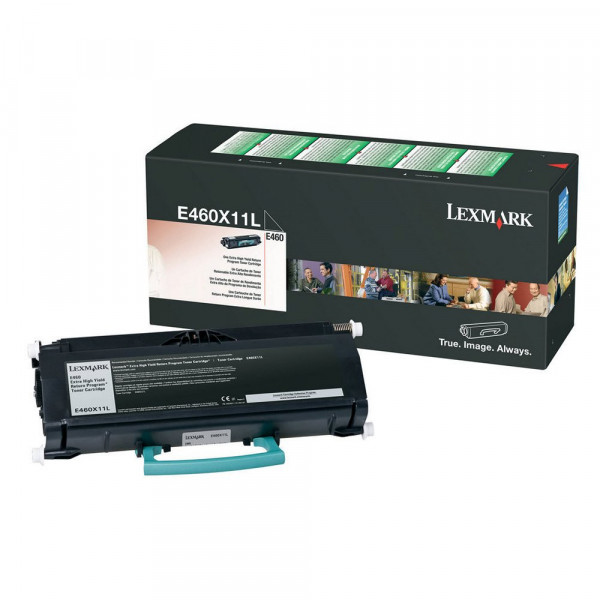 Toner Lexmark E460DN E460 E460X11L Original | Em 12X
