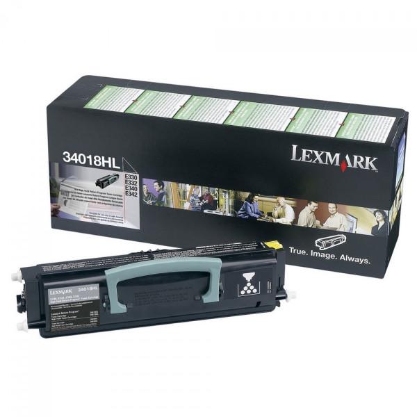 Toner Lexmark Original 34018HL E330 E340 E342 Promoção Em 12x