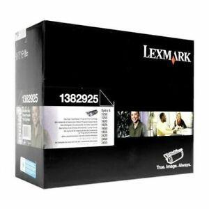 TONER LEXMARK ORIGINAL PRETO 1382925