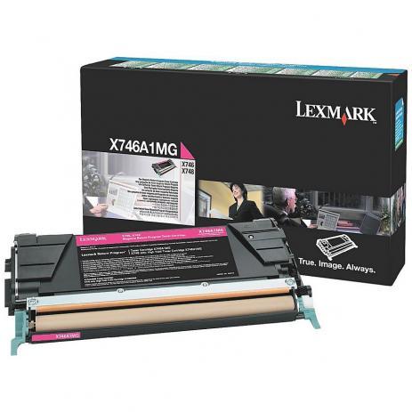 Toner Lexmark X746A2CG 746 748 Original ? 7.000 Pgs - Ciano