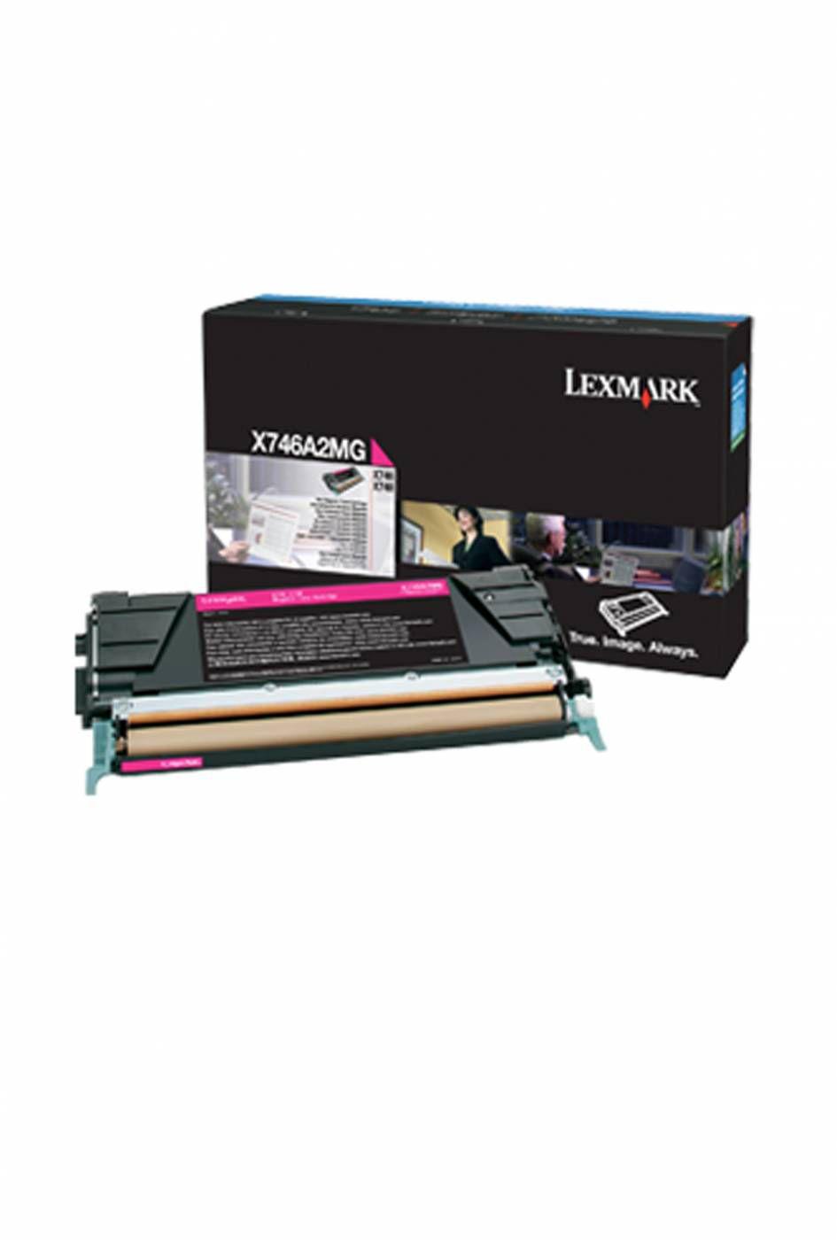 Toner Lexmark X746A2MG 746 748 Original ? 7.000 Pgs - Magenta