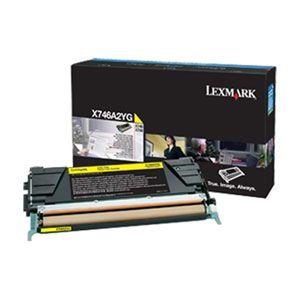 Toner Lexmark X746H2YG 746 748 Original  12.000 Pgs - Yellow