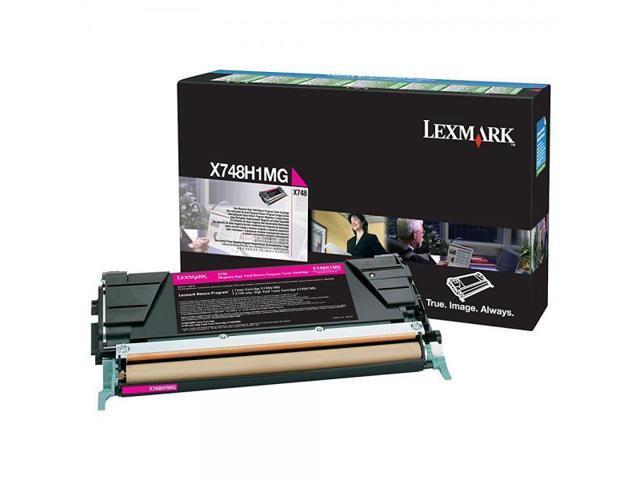 TONER MAGENTA ORIGINAL LEXMARK X748H1MG