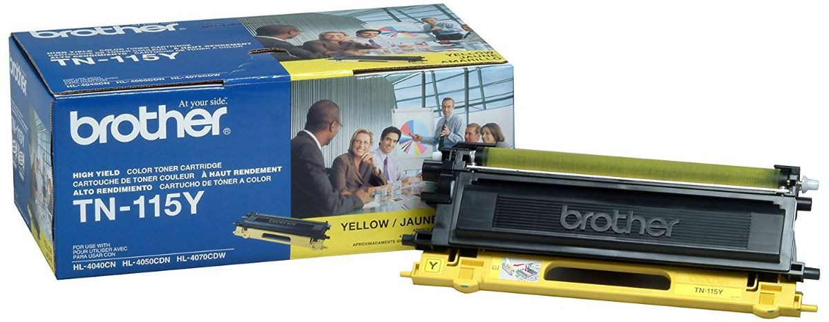 Toner Original Brother TN-115Y AMARELO