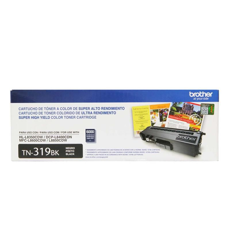 Toner Original Brother TN-319BK Original - 6.000 Pgs
