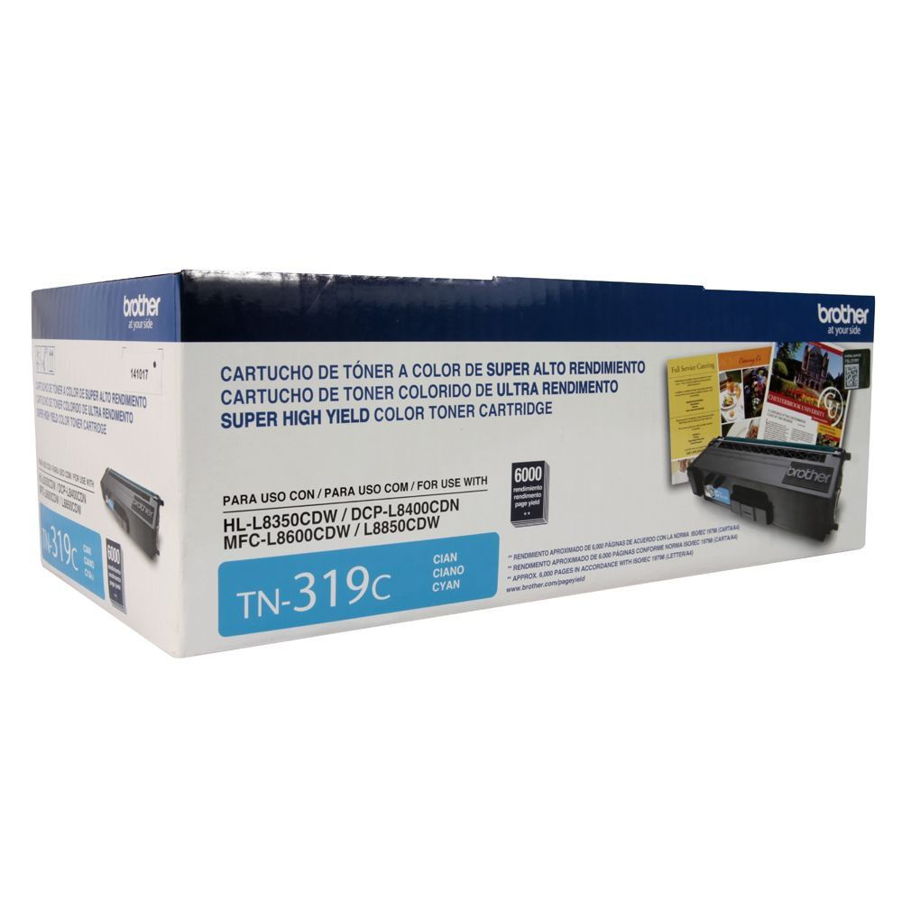 Toner Original Brother TN-319C - 6.000 Pgs