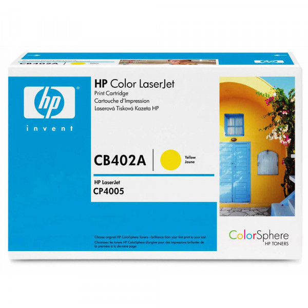 TONER ORIGINAL HP CB402A HP 642A YELLOW