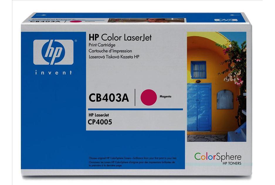 TONER ORIGINAL HP CB403A HP 642A MAGENTA