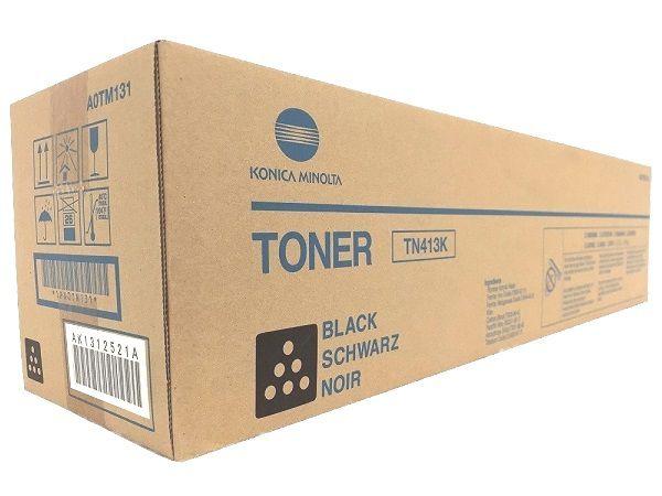 Toner Original Konica Minilta TN413K PRETO