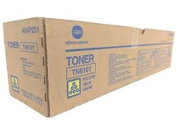 Toner Original Konica Minolta TN610Y AMARELO
