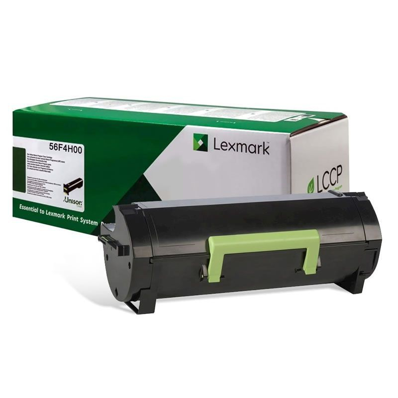 Toner Original Lexmark 56F4H00 56FBH00 rendimento extra-alto ? 15.000 Pgs - Preto
