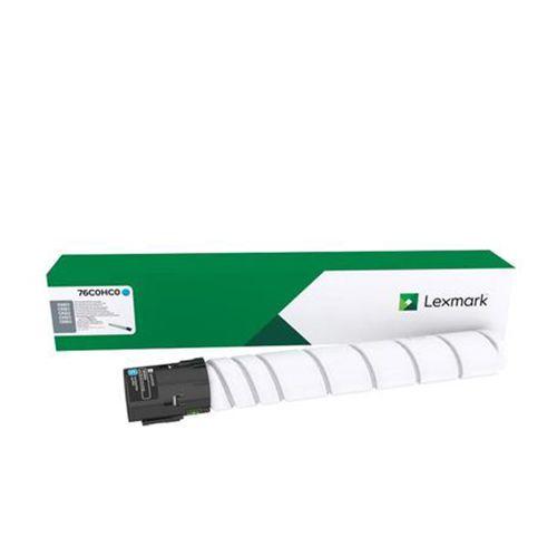 Toner Original Lexmark 76C00C0 rendimento extra-alto 11.500 Pgs - Ciano