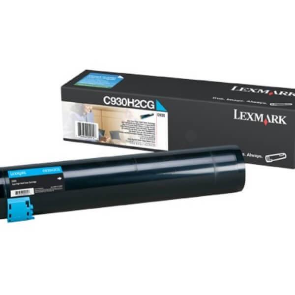 Toner Original Lexmark C935dtn - C930H2CG Ciano / Azul - www.acessosop.com.br