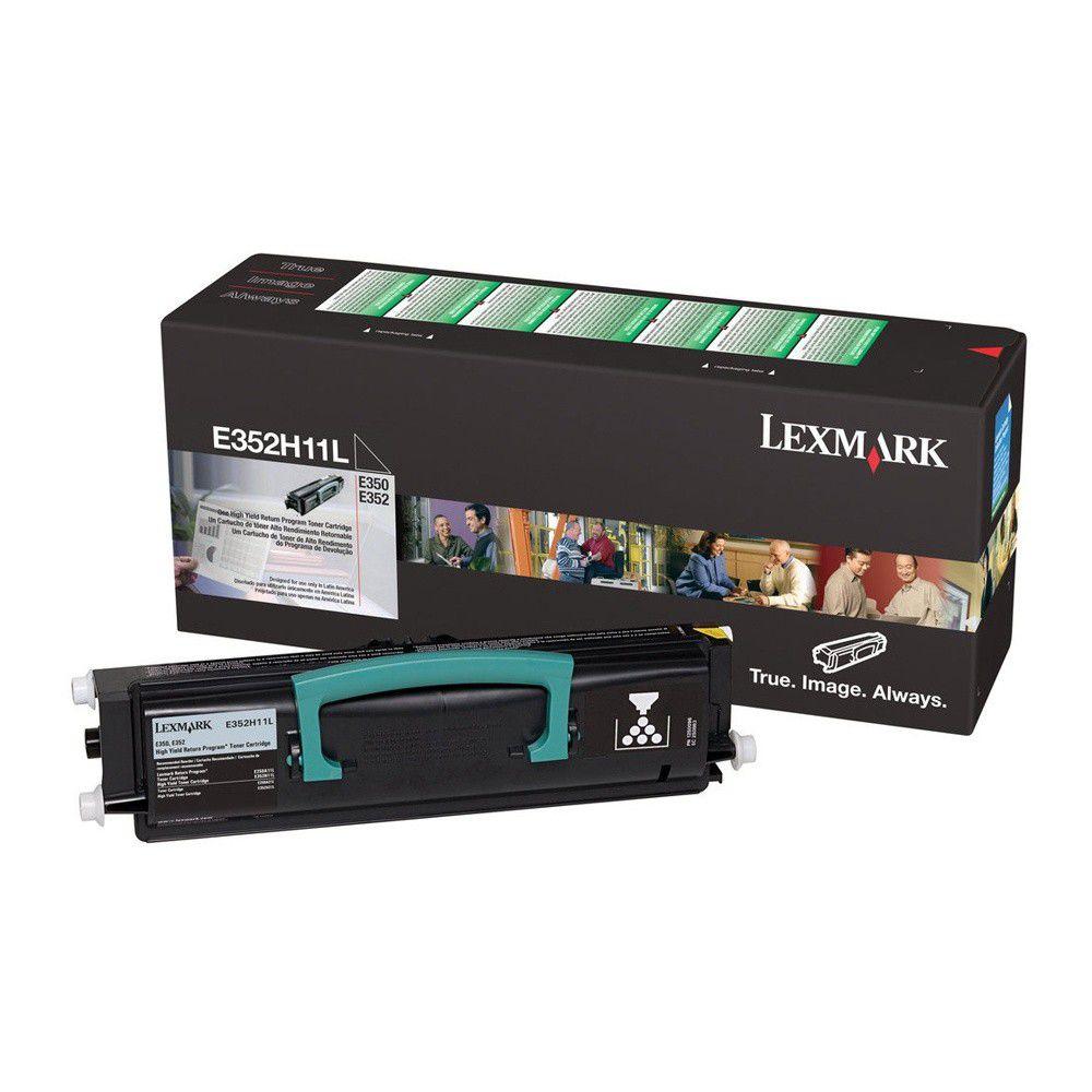 Toner Original Lexmark E352H11L E350 E352