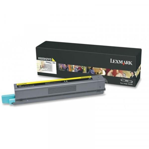 Toner Original Lexmark X925H2YG Amarelo