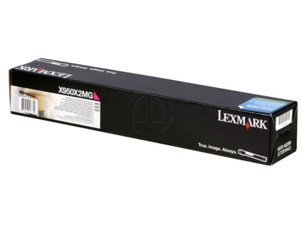 TONER ORIGINAL LEXMARK X950X2MG MAGENTA