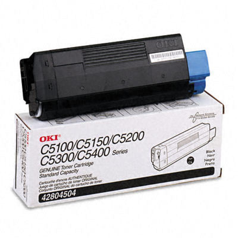 Toner Original Okidata 42804504 Preto