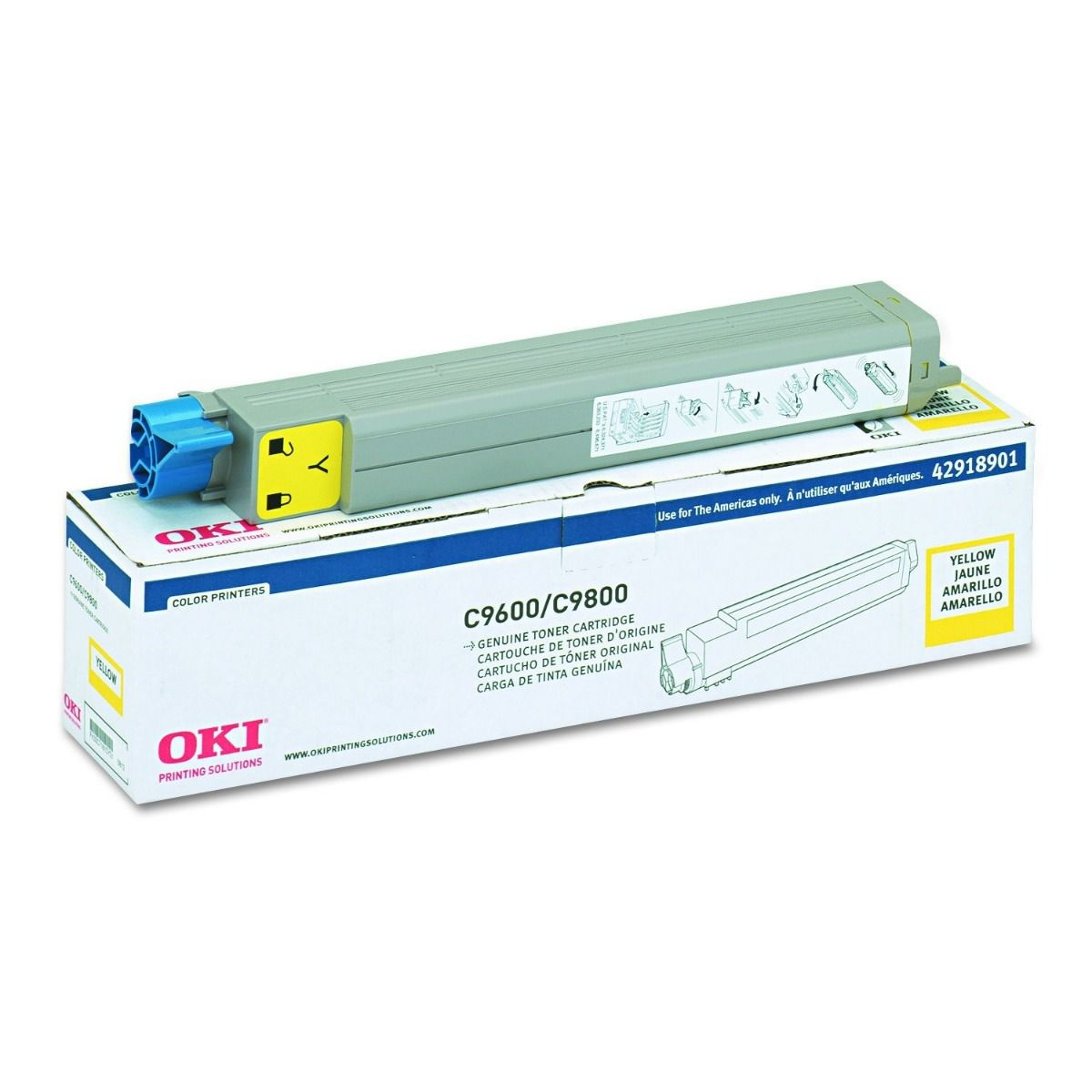 Toner Original Okidata 42918901 Amarelo