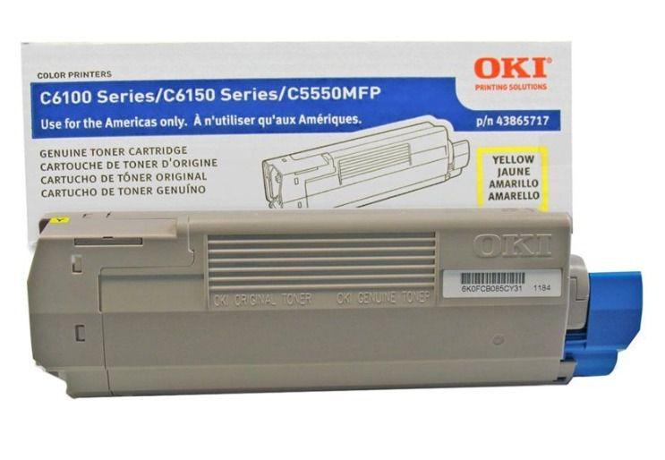 Toner Original Okidata 43865717 Amarelo