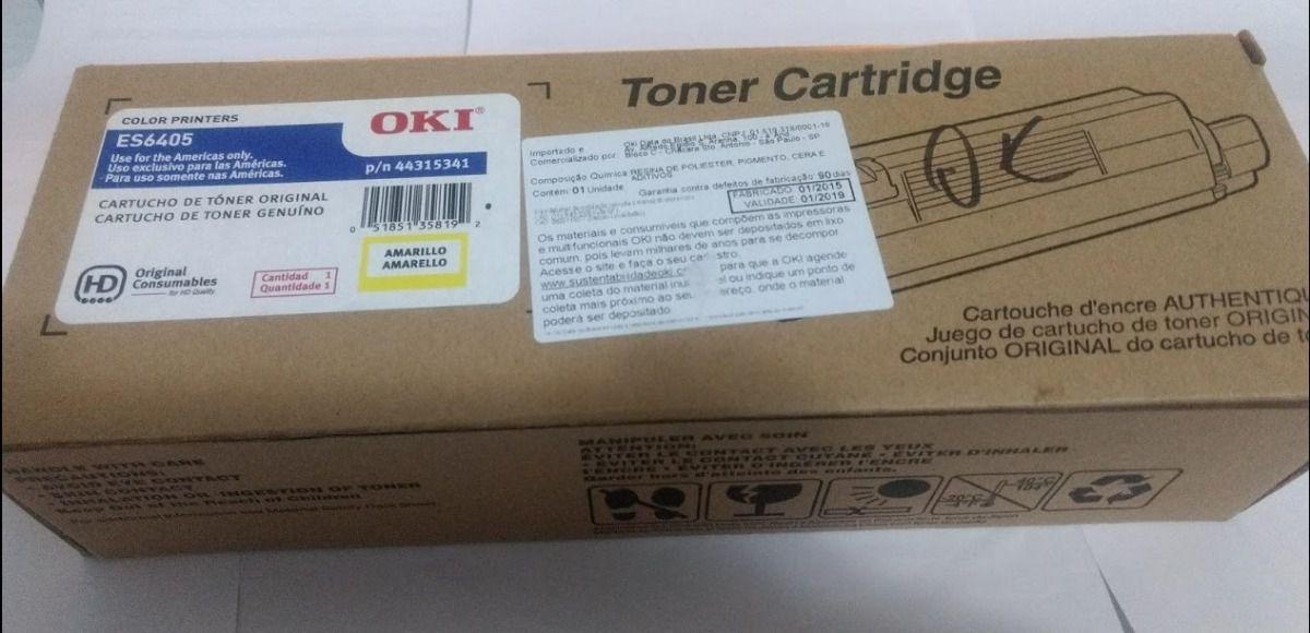 Toner Original Okidata 44315341 Amarelo