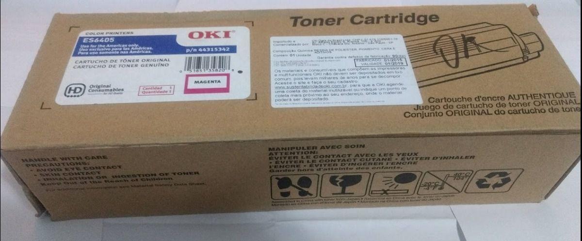 Toner Original Okidata 44315342 Magenta