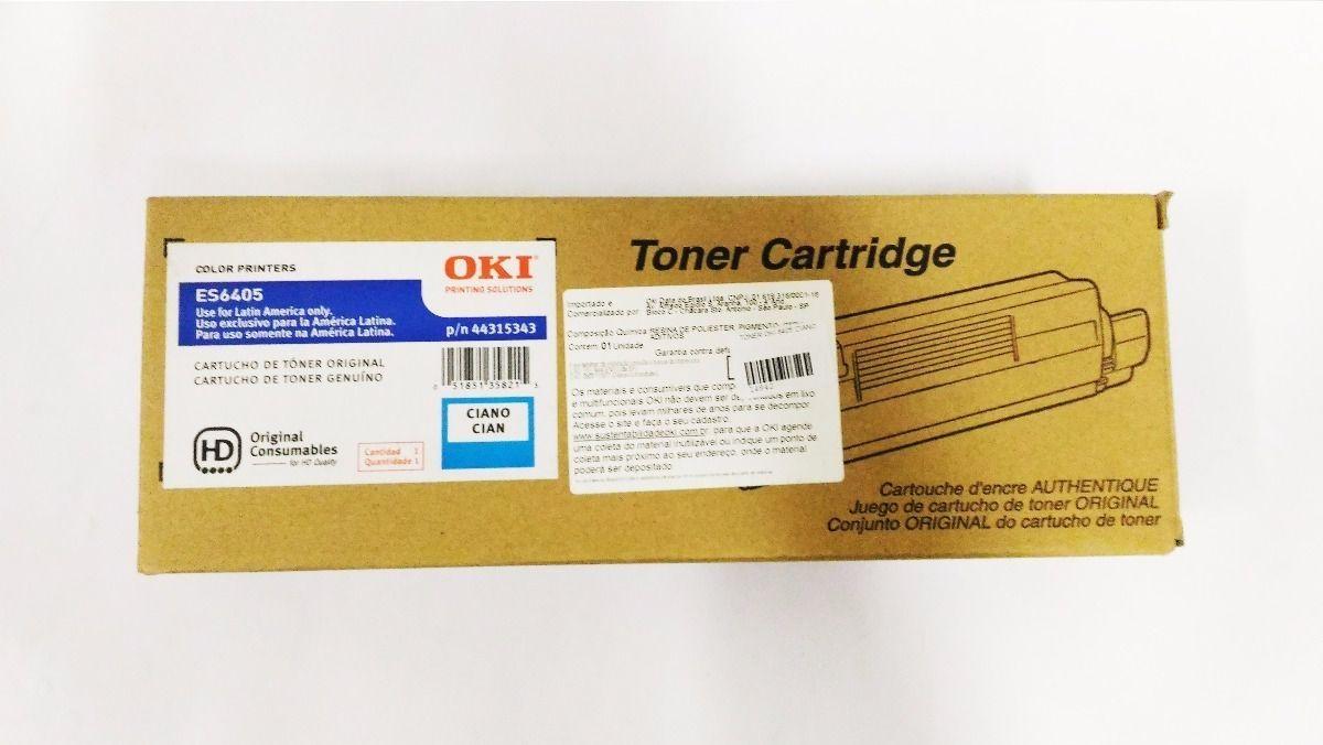 Toner Original Okidata 44315343 Azul
