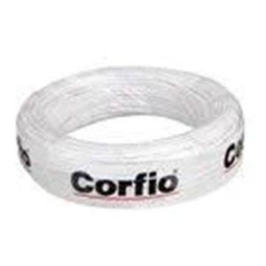 Cabo Flex Rolo 100 metros 1.50MM 750V Branco -  Corfio